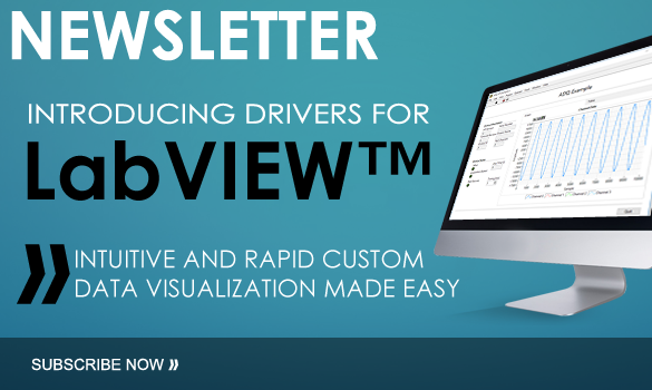 Introducing drivers for LabVIEW
